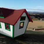 wooden playhouse for children