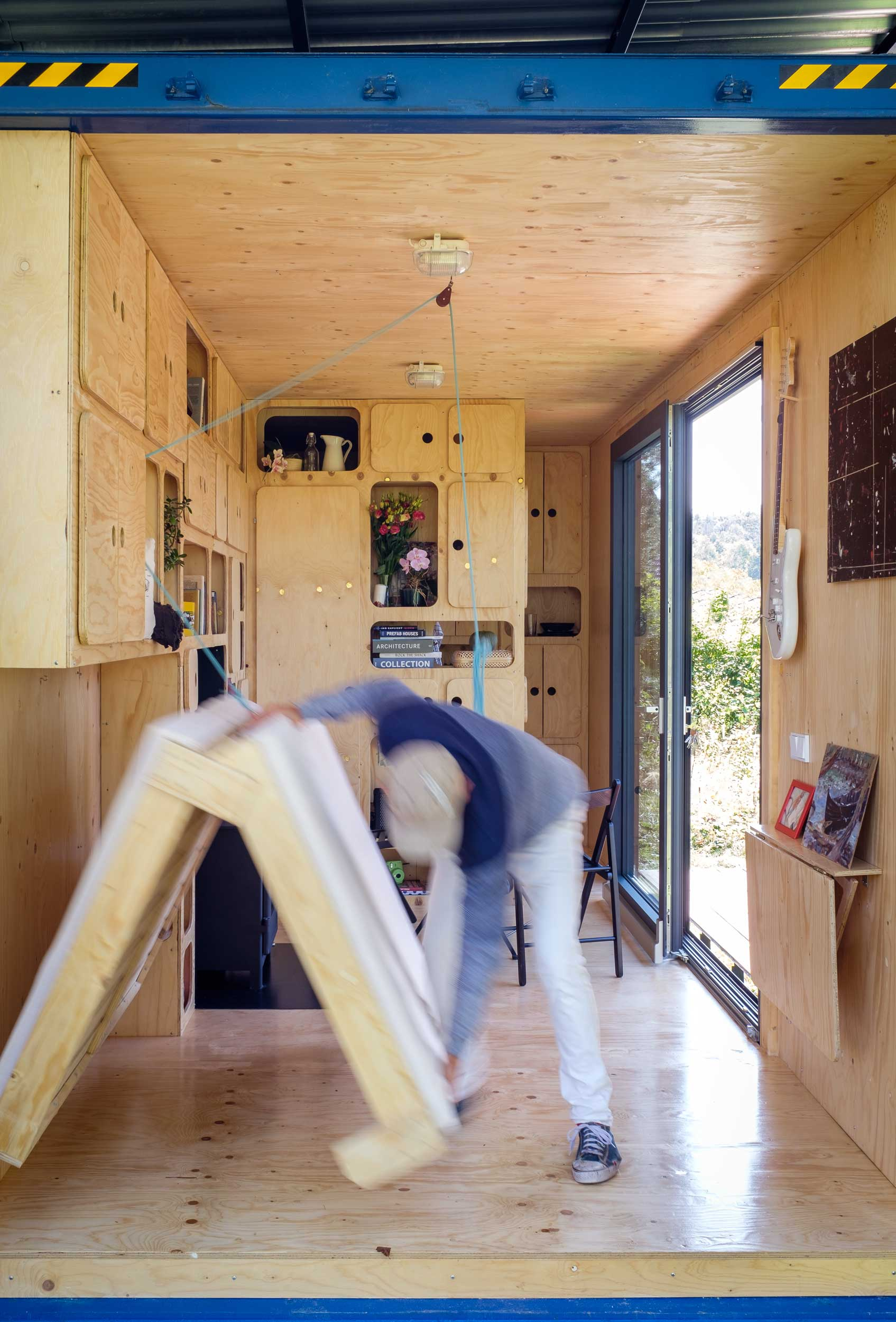 Off Grid HC Container House Plans