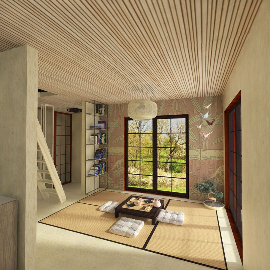 Japanese Small House Plans - Pin-Up Houses