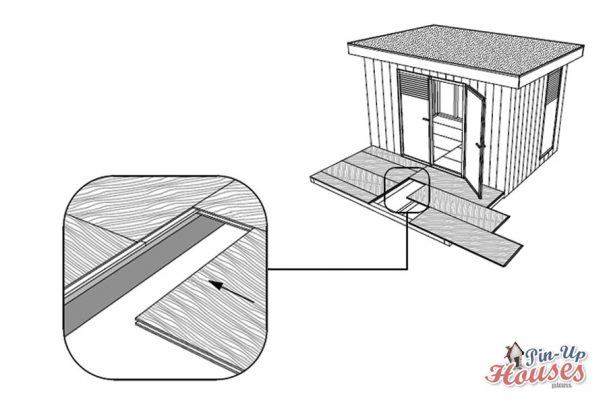 small cabin plans osb floorboards