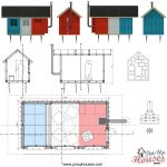 drawings to prefab pin-up houses