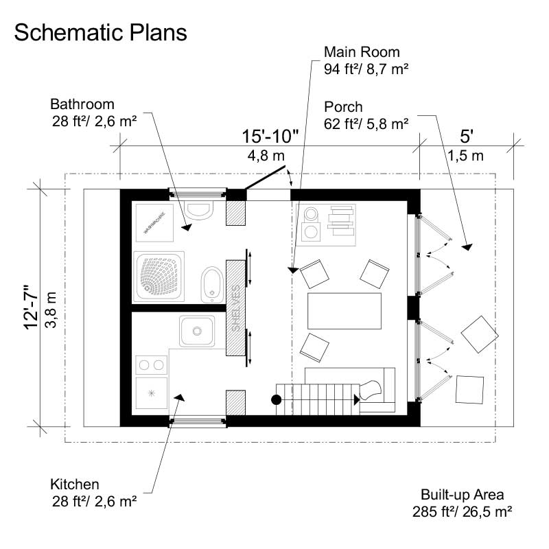 Beach Cottage Plans