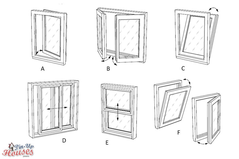 window types suitable for small houses