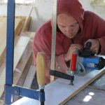 DIY tiny houses construction cladding